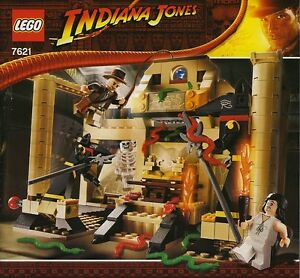 LEGO INDIANA JONES THE LOST TOMB 7621 ALL 3 MINIFIGURES 100% COMPLETE GUARANTEE