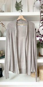 ALLSAINTS beautiful beige linen/cotton blend lightweight cardigan, open style! M