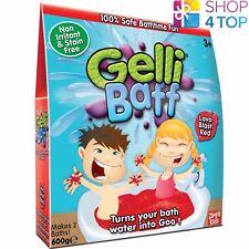 Gelli Baff Lava Blast Red 2 Bath Pack Turn Water Into Goo Kids Children New