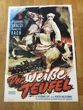Der weiße Teufel (Kinoplakat '60) - Rossano Brazzi / Anette Bach