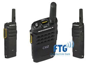 Motorola SL1600, UHF 403-470MHz, Akku +Antenne + Kundenspezifische Progr