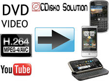 DVD to Moto G5 Z2 Play HTC OnePlus Video Converter AVI VOB MPEG-4 | Free UK P&P