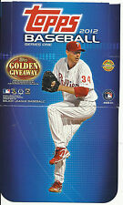 """2012 Topps Baseball Series """"1 & 2""""  Pick any 50 Cards From List!!"""