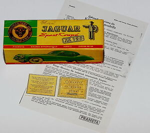 Reprobox für Prämeta Prameta Jaguar XK120 + Anleitung + Garantiekarte