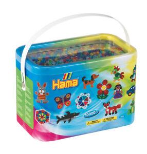Hama 10000 Beads Tub - Mixed Colours, Choice of 2 mixtures