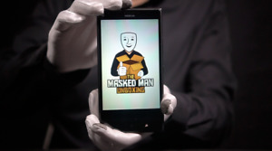 Nokia Lumia 1520 4G 16GB Phone - 'The Masked Man'