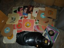 Great Vintage Lot of (50) 45RPM Records - for Jukebox or Your Collection  LOT 4