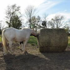 """Round Hay Bale Slow Feed Hay Net - Deluxe 6ft x 6 ft - 2"""" x 2"""" Openings"""