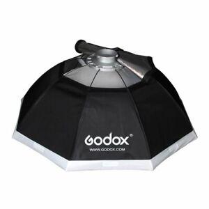 Godox 95cm Oktagon Softbox + Bowens Adapter + Tasche Für Studio Blitz