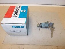 Mopar NOS Tail Gate Lock Cyl.& Keys Pkg. 1976-78 Dodge Aspen,Plymouth Volare S/W