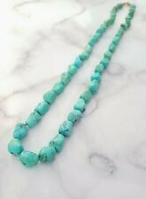 More details for fine antique chinese turquoise necklace