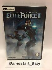 STAR TREK ELITE FORCE 2 II PC VIDEOGAMES BOXED SEALED NEW