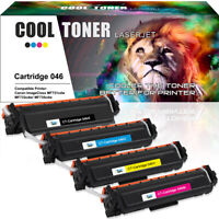 4PK for Canon 046 Toner Set for ImageClass MF733Cdw MF731Cdw LBP-654Cdw MF735Cdw