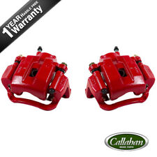Rear Red Brake Calipers Pair For 2007 2008 2009 2010 - 2015 Sequoia Tundra