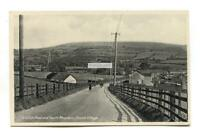 Church Village - Station Road & Garth Mountain - old Glamorgan postcard