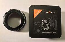 K&F Concept Lens Adapter EOS-NEX Canon EF to Sony E mount