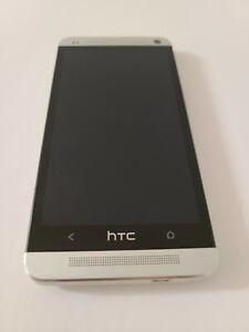 HTC One M7 Verizon 32GB HTC6500L Silver 4G LTE Android Smartphone