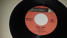 "SAMMY DAVIS JR. Night Song / Not For Me REPRISE 0289 VINYL 45 7"" RECORD"