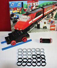 Lego, Eisenbahn, 30 Stück Haftreifen,15x schwarz+ 15x grau 12V/4,5V,Train, dünn