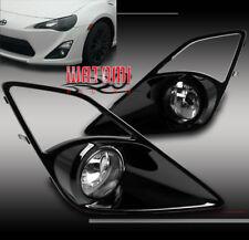 12-16 SCION FR-S COUPE BUMPER DRIVING CHROME FOG LIGHT LAMP W/BULB+COVER+HARNESS