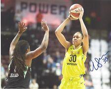 AZURA STEVENS Signed 8 x 10 Photo WNBA Basketball DALLAS Wings UCONN HUSKIES