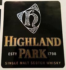 Highland Park Single Malt Scotch Whisky sticker