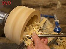 Step-by-step ~ TORNIO formazione ~ DVD ~~~ lavorazione del legno wood-TORNITURA