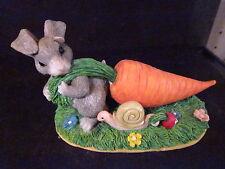 Charming Tails Silvestri Tuggin' Twosome 87/362 Rabbit Snail Carrot Radish