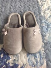 LADIES M/&S SHERPA REAL SUEDE SOFT FUR SLIP ON MULE SLIPPERS MARKS /& SPENCER 4-8