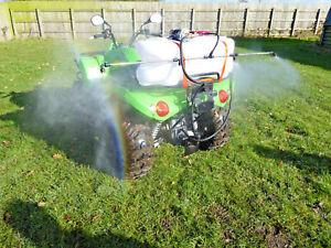 QUAD CROP WEED SPRAYER KIT 60LTR TANK ATV , 1.5M BOOM, HAND LANCE   FREE P & P