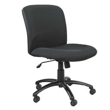 Safco Uber Big And Tall Mid Back Task Office Chair In Black