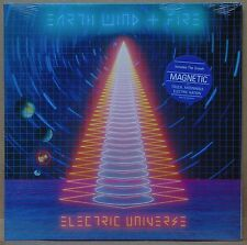 SEALED: EARTH WIND and FIRE ~ ELECTRIC UNIVERSE w/ HYPE STICKER vinyl lp ORIG