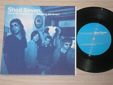 "SHED SEVEN - DEVIL IN YOUR SHOES - 45 GIRI 7"" GATEFOLD UK"