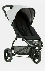 Mountain Buggy Mini Black and Silver