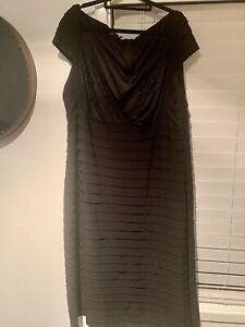 Plus Size Black Dress 22