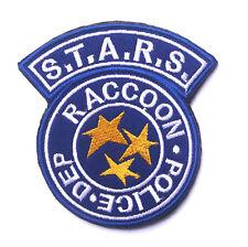 NEW  Resident Evil S.T.A.R.S Raccoon Police DEP Shoulder Patch     SJK  +  566