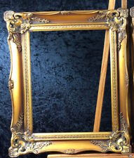 12 x 16 Wooden Frames - Deep Gold with Rich Texture