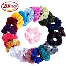 20 Pcs Hair Scrunchies Velvet Elastic Hair Bands Scrunchy Hair Ties ...