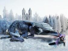 "Dragon Protector Fairy Castle Fantasy Jigsaw Puzzle 285 Pieces 16.5""X12"" Piece"