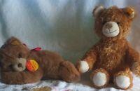 2 Steiff Teddys,1×neuw.Floppy K/F/S 082108 & Bär K/F Nr 022791 Konvolut,Sammlung