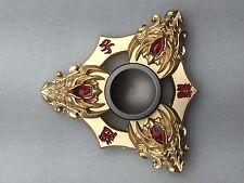 Unique Design Fidget Spinner-Gold 3 dragon heads