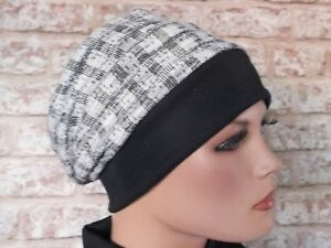 Reversible 2 in 1 - Jersey Hat Headwear for Cancer, Chemo, Hair Loss, Leukemia