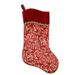 Christmas Stocking Filler Red Gold Large Medium Small