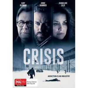 Crisis (Dvd,2021) *NEW* REG 4