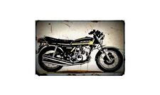 1976 77 kh400 Bike Motorcycle A4 Photo Poster