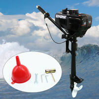 3.5 HP Boat Engine 2 Stroke Outboard Motor Short Shaft & Water Cooling System US