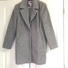 Forever 21 Grey Cocoon Oversized Coat Size XS 6 8
