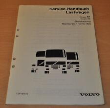 Volvo Standheizung Thremo 90 90S  LKW Lastwagen Truck Werkstatthandbuch