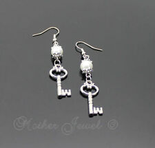 Unbranded Pearl Silver Plated Fashion Earrings