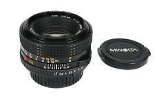 MINOLTA MD  50mm 1:1,7 Standard Optik - Analoges Objektiv -* Fotofachhändler *